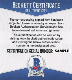 Keanu Reeves Signed 11x14 Photo The Matrix Authentic Autograph Beckett Coa A