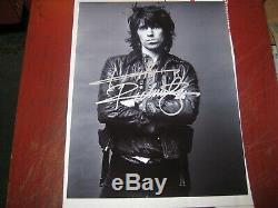 Keith Richards Rolling Stones Authentic Original Hand Signed 8x11 Photocoa