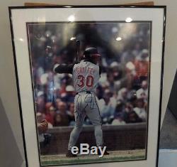 Ken Griffey Jr 16 x 20 Autographed, Authenticated BAG96497 Reds