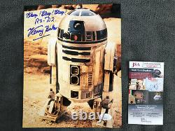 Kenny Baker Star Wars R2-d2 Signed 8x10 Photo Jsa Authenticated Coa