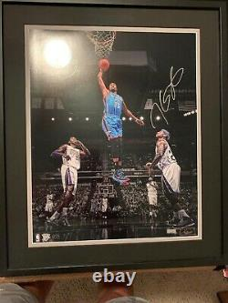 Kevin Durant 1/35 Panini Authentic Signed 16x20 Thunder Warriors Autograph Nets