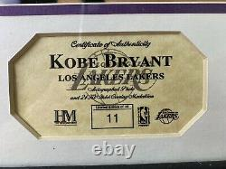 Kobe Bryant Autograph Picture Authenticity Certificate Highland Mint 24K Only 48
