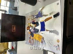 Kobe Bryant BTB Trophy picture signed 20 x 24 Panini Authentic Extremely Rare
