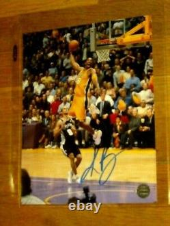 Kobe Bryant Los Angeles Lakers 8x10 Autograph Photo Signed WithCOA AUTHENTICS