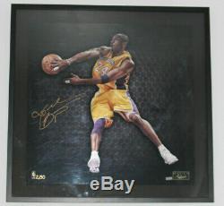 Kobe Bryant PANINI AUTHENTIC signed 23x24 #2/50 AUTO