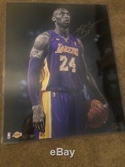 Kobe Bryant Panini Authentic Signed EPIC LE Of 24 16x20