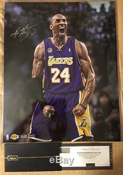 Kobe Bryant Signed Autographed Iconic 16x20 Photo Panini Authentic LE 56/124