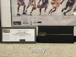 Kobe Bryant Signed Through The Years Panini Authentic Auto Autographed 68/124