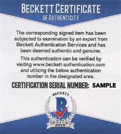 Kurt Russell Signed 11x14 Photo Tombstone Authentic Autograph Beckett Coa C