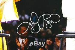 Larry Bird & Magic Johnson Authentic Signed 16X20 Retirement Photo PSA/DNA ITP