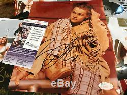 Leonardo DiCaprio Signed JSA COA 8X10 HUGE Auto Autograph James Spence authentic
