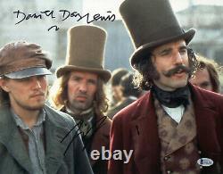 Leonardo Dicaprio & Daniel Day Lewis Signed 11x15 Photo Authentic Auto Beckett