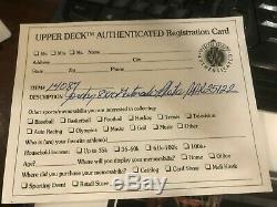 MICHAEL JORDAN Upper Deck Authenticated Gatorade Autographed 8X10 Photo UDA