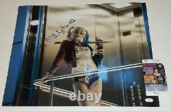 Margot Robbie Signed 16x20 Suicide Squad Harley Quinn Authentic Auto JSA COA