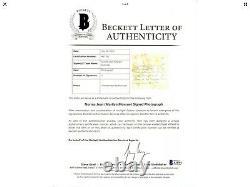Marilyn Monroe Norma Jeane Signed Photo Handwriting Beckett Authentic Bas Loa
