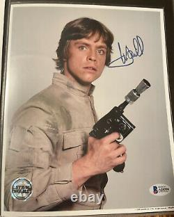 Mark Hamill Star Wars Authentic Signed 8x10 Photo Autographed BAS OPX READ