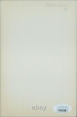 Mark Hamill Star Wars Signed 4x6 Glossy Photo JSA Authenticated