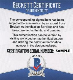 Michael Douglas Signed Falling Down License Plate Authentic Autograph Beckett
