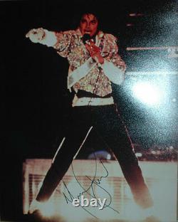 Michael Jackson AUTHENTIC 16 x 20 Autographed Photo COA SHA #25950