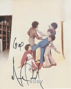 Michael Jackson Hand-Signed 8x10 Color Photo JACKSON5 with Authentic Autograph