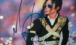Michael Jackson Hand Signed Photo Framed With Coa Authentic Autograph