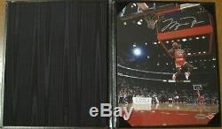 Michael Jordan 8x10 Signed Autographed 88 Scoreboard Dunk-UPD Authenticated