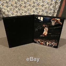 Michael Jordan Signed 8x10 First Game Back Upper Deck Authenticated With UDA COA