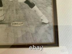 Michael Jordan autographed photo of NCAA winning shot- authenticated/numbered