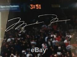 Michael Jordan signed 16 X 20 photo 1988 Slam Dunk Contest Upper Deck Authentic