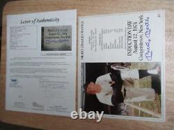 Mickey Mantle Signed Auto Autograph 8x10 Induction Day Jsa Loa Yankees Pc1096