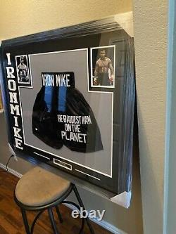 Mike Tyson Authentic Autographed Framed Jersey COA Boxing