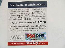 Mike Tyson & Stan Lee Autographed 16x20 Photo PSA Authenticated 35/50 RARE