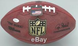 Packers CHARLES WOODSON Signed Authentic Wilson Duke Football AUTO Raiders JSA