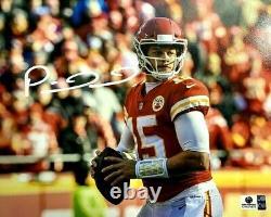 Patrick Mahomes Autographed Photo (Kansas City Chiefs) Global Authentics COA