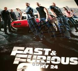Paul Walker The Fast and the Furious Signed Autographed 8x10 Photo AUTHENTIC