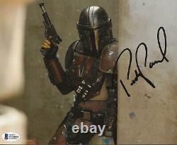 Pedro Pascal Star Wars Mandalorian Autographed Signed 8x10 Photo Beckett BAS COA