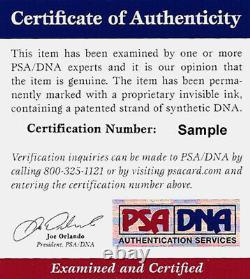 Pele Certified Authentic Autographed Signed 16x20 Photo Cbd Brazil Psa/dna 77878