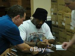 RAY LEWIS #52 PSA/DNA SIGNED 16x20 PHOTOGRAPH CERTIFIED AUTHENTIC AUTOGRAPH