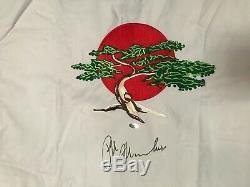 Ralph Macchio The Karate Kid Signed Karate Gi Leaf Authentics COA