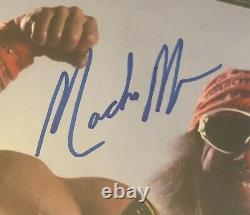 Randy Macho Man Savage Signed Autographed 5x7 Photo Wcw Beckett Bas Authentic