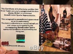SEAN TAYLOR SIGNED PHOTO 16x20 AUTOGRAPHED WASHINGTON REDSKINSJSA Authentic