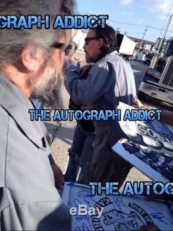 SONS OF ANARCHY Cast(x14) Authentic Hand-Signed 11x17 Photo(Charlie Hunnam)PROOF