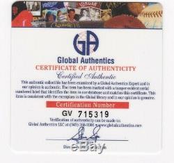 Scarlett Johansson Iron Man 2 Autographed 8x10 photo Global Authentics GV CoA