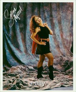 Selena Quintanilla Love, 1995 Authentic Signed 8.5x11 Photo BAS #AA03688