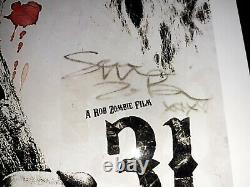 Sheri Moon Zombie Signed 8.5 X11 Photo JSA COA Sexy Authentic Autograph
