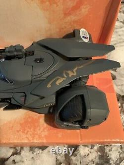 Signed Ben Affleck Batman Batmobile Metals Die Cast DC Autograph BAS COA Beckett