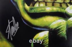 Stan Lee Authentic Signed The Hulk 16X20 Photo Marvel Comics Autograph PSA/DNA 2