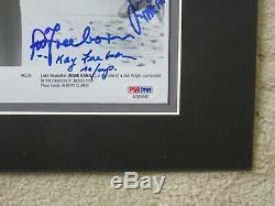 Star Wars Autographed Photo Mark Hamill Stuart & Kay Freeborn +5 PSA Authentic
