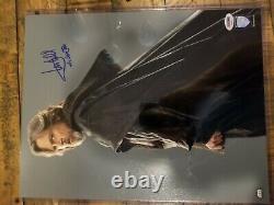 Star wars Signed Mark hamill 11x14 Last Jedi PSA Authentic