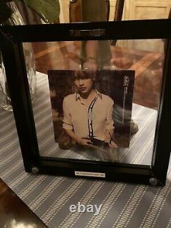 TAYLOR SWIFT RED Once SIGNED ALBUM AUTOGRAPH AUTHENTIC